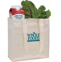 biodegradable natural cotton canvas shopping vegetables and fruit packaging carry tote bag with logo printing