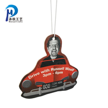 Full color printing Hanging Car Freshener fragrance mixed Hanging Paper Car Air Freshener in China