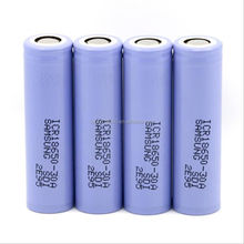 2016 Trending products ICR18650-30A high drain 18650 rechargeable liion battery 3.7V 3000mah for Samsung 30A PK cylaid 18650 mod