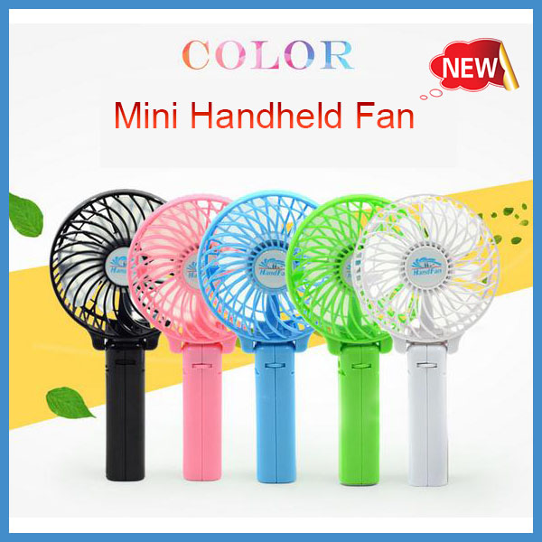 Free Sample Hot selling Summer Cool Mini Fan Strong Wind Desk Table USB Portable Electric Rechargeable Fans with a usb cable