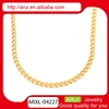 2016 Wholesale indian jewelry gold plated jewelry chain in stainless steel