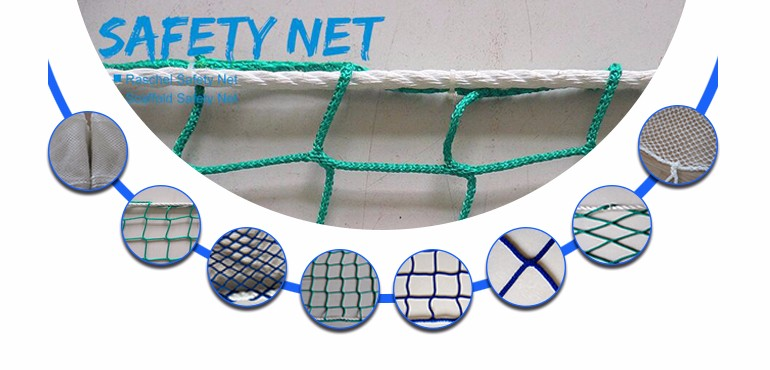 My test Raschel PP Construction Safety Net
