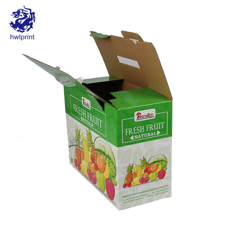 Wholesale Custom Fruit Vegetable Packaging Carton Box
