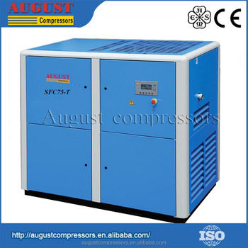 SFC75-T 75KW/100HP August Screw Air Compressor