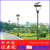 6 Meter LED Single/Double Arm Solar Garden Lights/work of 2/3/4/5 rain days