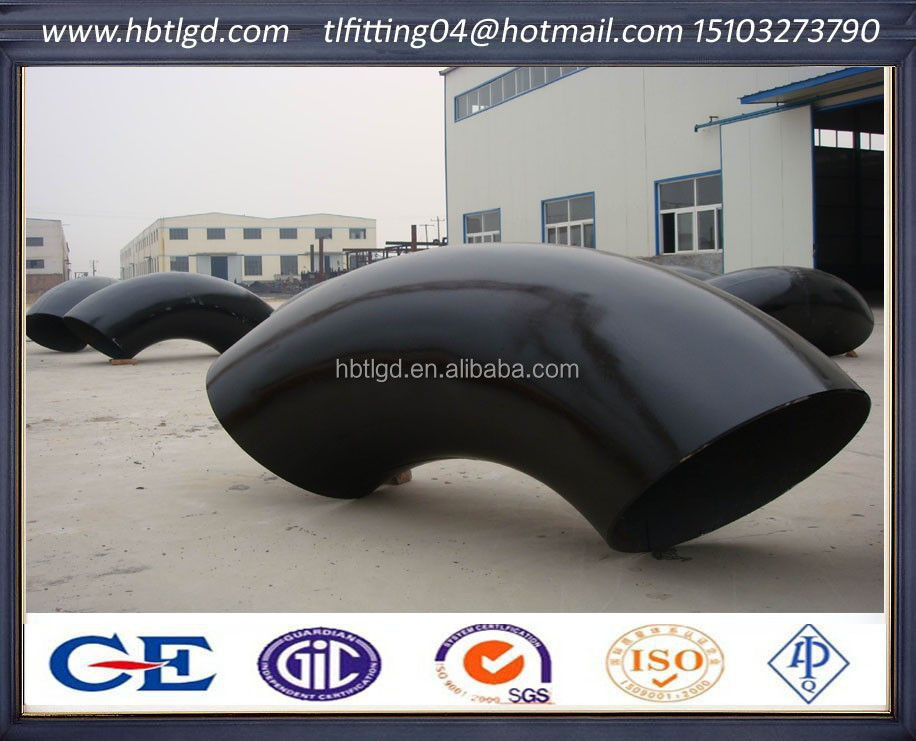 Carbon Steel Pipe Fittings Sch60 Black Painting Elbow Gas/Oil/Construction(skye:rachel91152,tlfitting04@hotmail.com