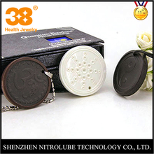 2017 new Nitrolube health care YinYang 3000 gauss magnetic FIR negative ion nano lava stone quantum science pendan Japan