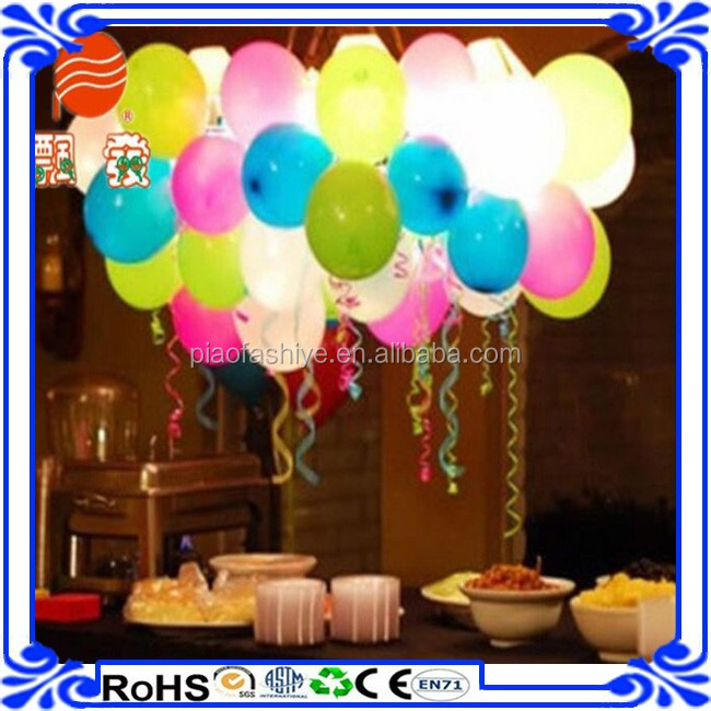 hot air led balloon party balloon