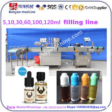automatic eye drops perfume Toner Roll-On Bottles filling capping labeling line for 5ml 8ml 10ml 15ml 20m shanghai factory price