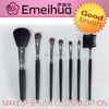 black wooden handle makeup brush set personal makeup brush