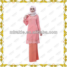 MF20861 baju kurung muslim wearing for women