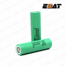New and original samsung 18650 3.7v li-ion battery inr18650 25r 2500mah samsung battery pack