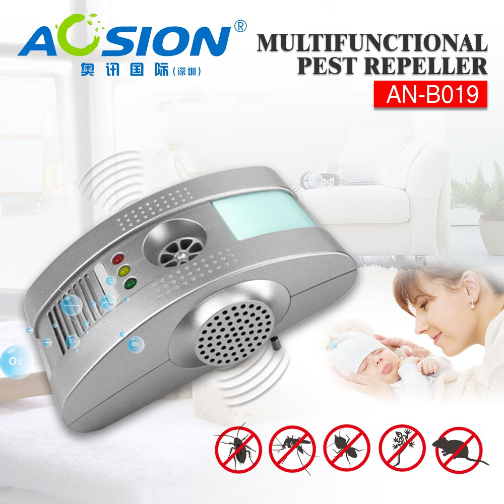 Pest Repeller Ultrasonic - Professional Electronic Pest Repellent Control Repels indoor insects and rats