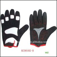 Synthetic Leather Full Finger Riding Glove