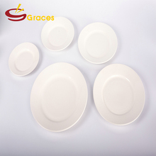 "10"" Round Shaped Nice Quality Ceramic Dinner Plates And Dishes For Hotel And restaurant"