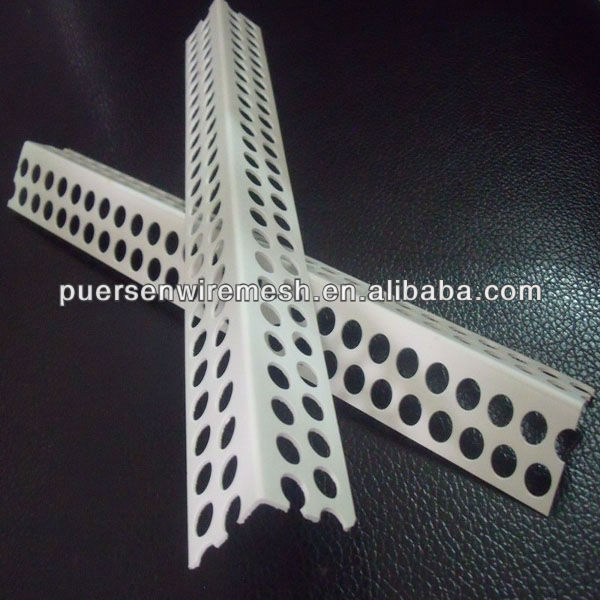 Perforated Angle Coner Bead with Reinforced Flange