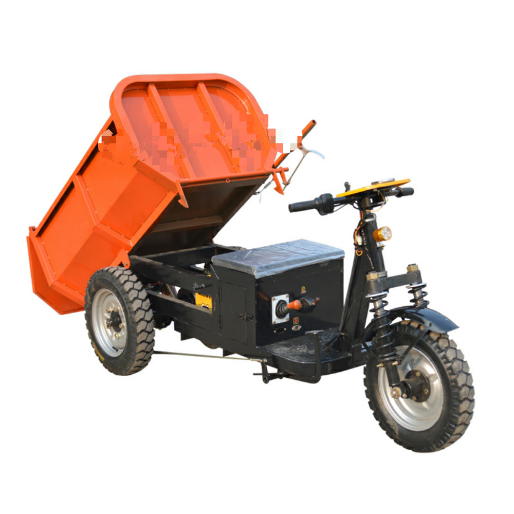 <strong>China</strong> Mini 1 Ton Site Dumper/Mini Farm Garden Electric Dumper Truck