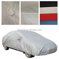 Silver Color Customed Design Waterproof Car Cover OEM