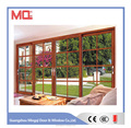 2.0mm aluminum thickness horizontal blinds sliding glass doors
