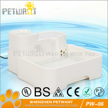 Hot sale automatic pet drinking water bowl water feeder for dog cat