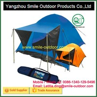inner breathable polyester 4 person family mini camper trailer tent