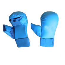 Quality Assurance New Design Elastic Karate Mitts White Color Gloves