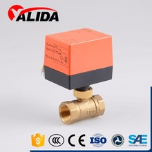 Brass Electric Motorized Ball Valve Control Automatic Water Valve