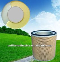 rigid foam polyurethane adhesive for air filter(bonding metal and paper)