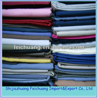 Wholesale polyester cotton blend dye fabric