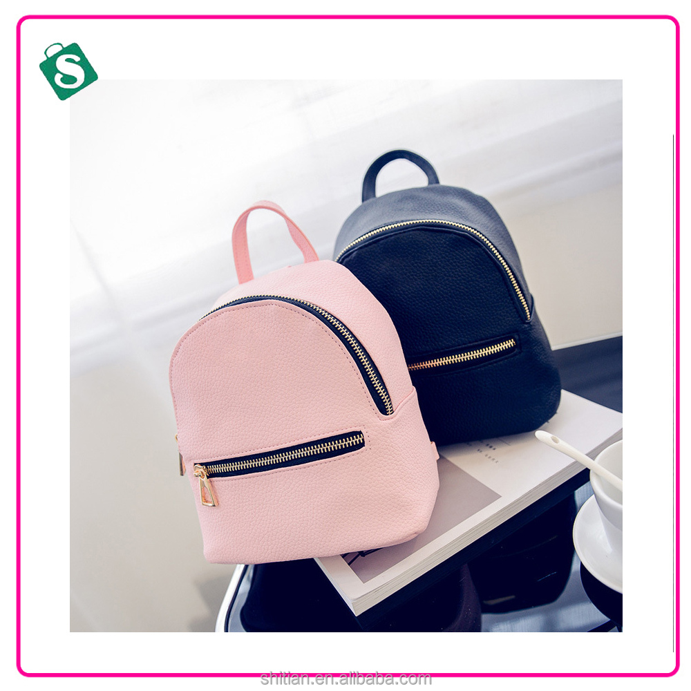 Factory Directly sale Cheap Price Pu leather <strong>Backpack</strong> for teens