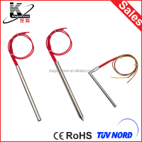 Teflon coated sheath heating element