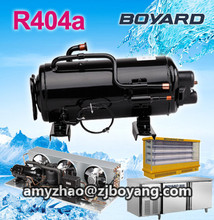 New products! R404a horizontal rotary refrigeration compressor for marine blast freezer