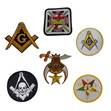 Wholesale Masonic Fabric Embroidery Patch Custom Patches