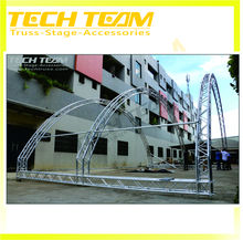 Used trade show display used aluminum truss price
