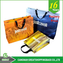 Free Sample Wholesale TOP Quality Reusable Custom Logo printing Paper Packaging Bag,Paper shopping Bag