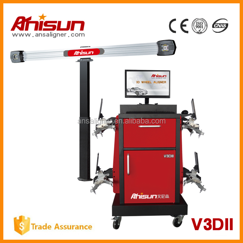 hot selling computer wheel alignment V3DII