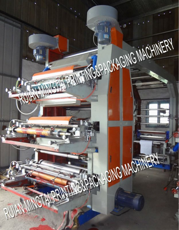 High speed printing machine flexo