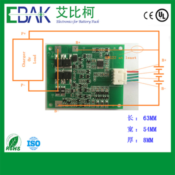 3S 10A PCM board for Battery Pack