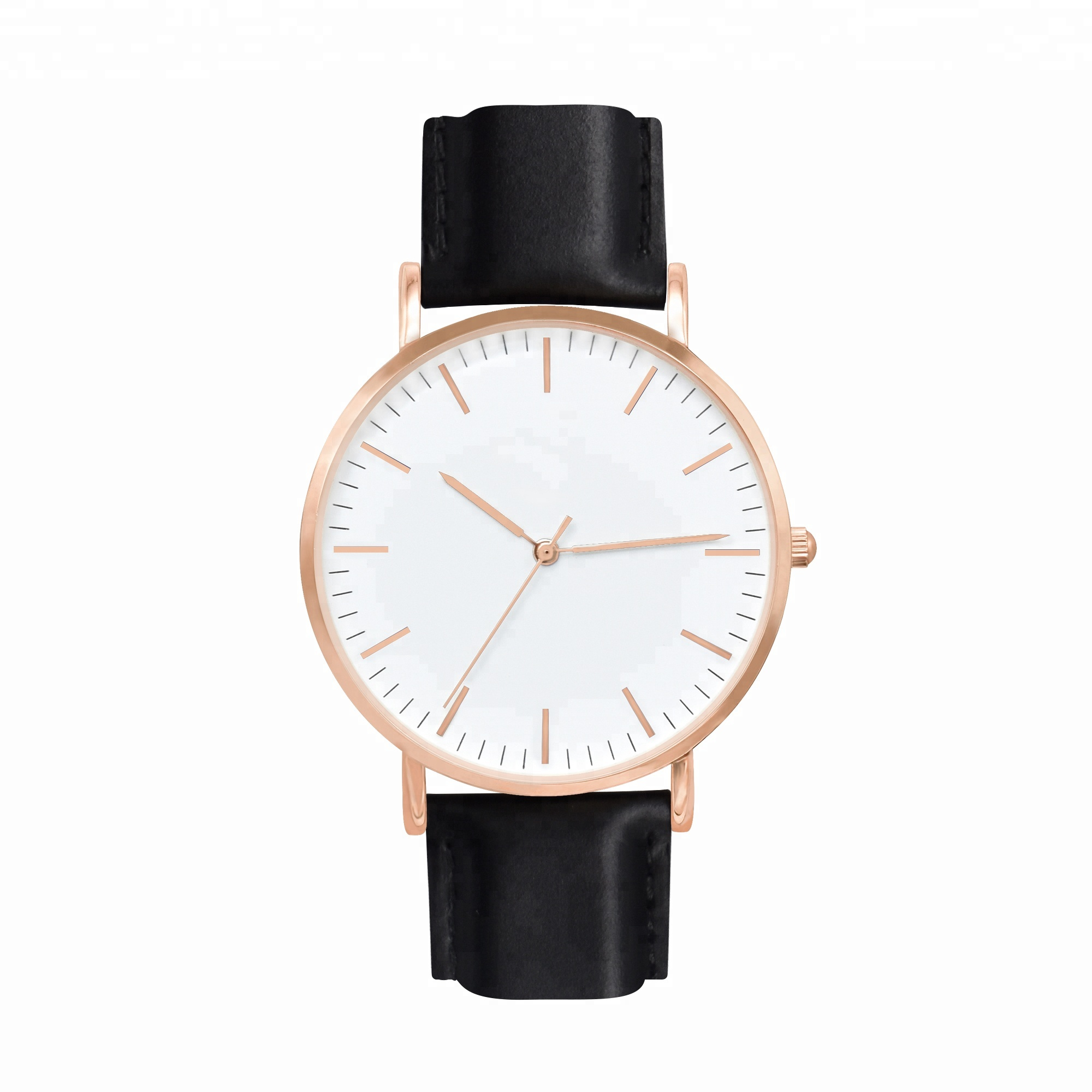 <strong>Hot</strong>! September Festival customized your logo withlow moq quality men leather watches