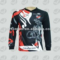 custom sublimation motorcycle jersey