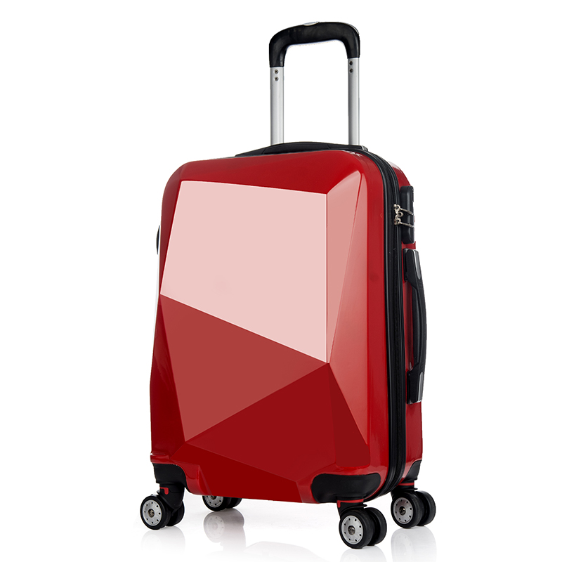 Red Hard Case 20Inch Kids Trolley Hard Case Luggage