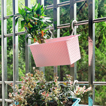 Various plastic pp nursery planter plastic hanging flower pot,garden storage box