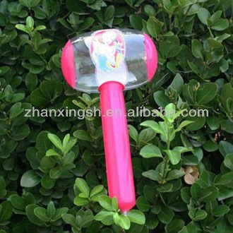 2013 Most popular beautiful design pvc inflatable stick toy