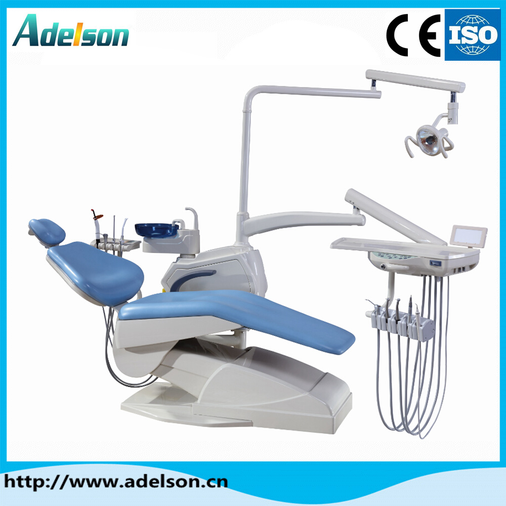 China factory price popular glass spittoon dental chair unit for global market
