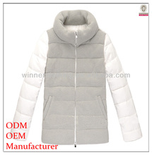 Fashionable OEM factory direct stand collar pictures of men coats