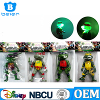 Teenage Mutant Ninja Turtles PVC Action Figures Set OEM factory for Customized Figures and Toys