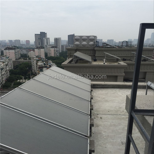 solar water heater project(flat plate solar collector)