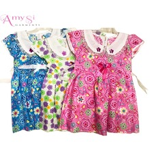 0.76 USD GQ011 summer 1 year old flower child fashion birthday kid baby girls clothing