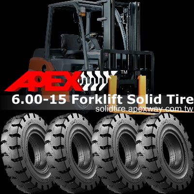 6.00-15 Forklift Solid Tire