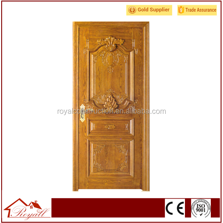 Painting Surface Oak Wood Solid Wood Door